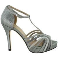 Zapatos Mujer Sandalias Menbur 07954 Gris