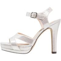 Zapatos Mujer Sandalias Menbur 09522 Gris