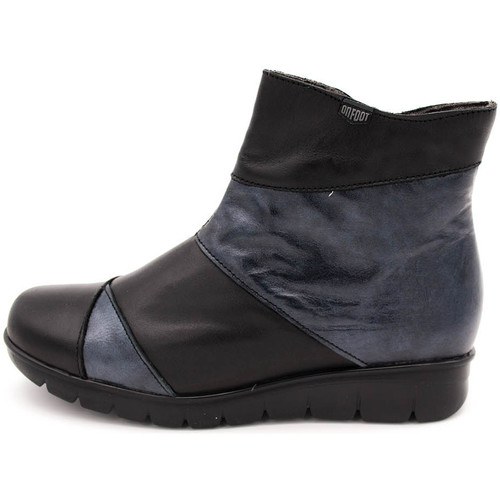 On Foot 15003 Negro - Zapatos Botines Mujer