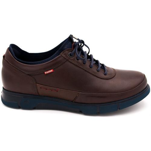 Zapatos Hombre Mocasín Fluchos 9852 Marrón