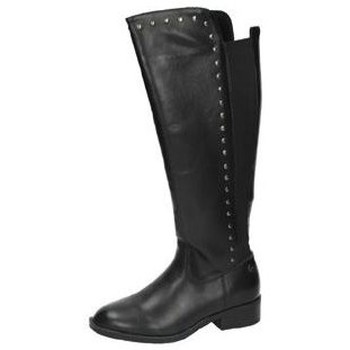 Zapatos Mujer Botas urbanas Xti Botas altas negras Negro