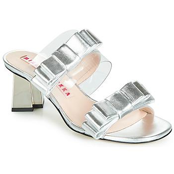 Zapatos Mujer Sandalias Minna Parikka FELIZ Plata