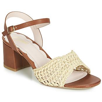 Zapatos Mujer Sandalias Miss L'Fire MIRO Marrón