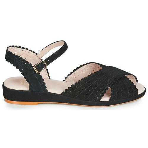 Mujer Brigitte L'fire Negro Zapatos Sandalias Miss TkXOZiuwP