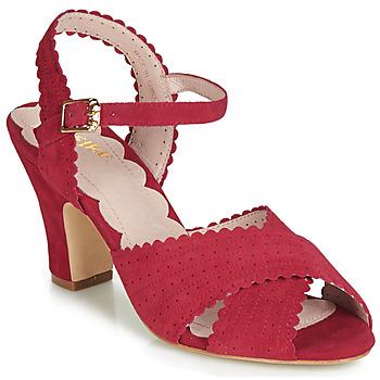 Zapatos Mujer Sandalias Miss L'Fire BEATRIZ Rojo