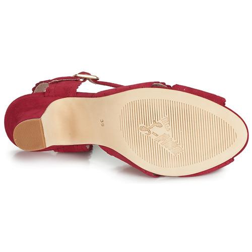 L'fire Sandalias Rojo Zapatos Beatriz Miss Mujer qSMpVLUzG