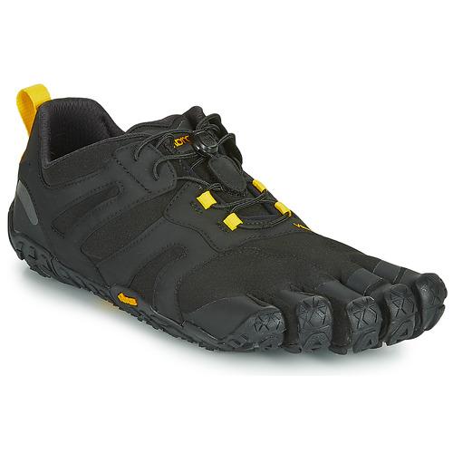 Vibram Fivefingers V-TRAIL Negro / Amarillo - Envío gratis | ! - Zapatos Running / trail Hombre