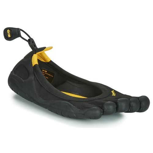 Zapatos Mujer Multideporte Vibram Fivefingers CLASSIC Negro / Amarillo