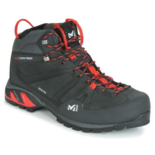 Zapatos Hombre Zapatillas altas Millet SUPER TRIDENT GTX Negro / Rojo