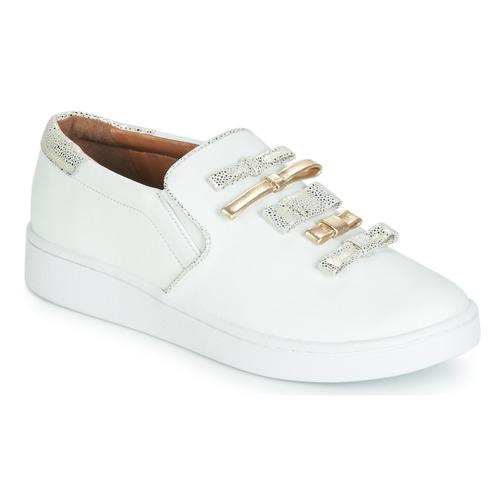 Zapatos Mujer Slip on Cristofoli JOLA Blanco