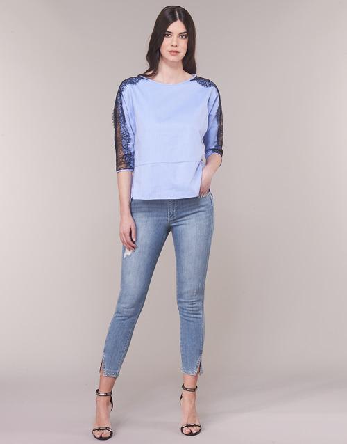 8 ¾amp; Armani Vaqueros 7 Textil Mujer AzulClaro Helbiri Exchange hQCtdsr