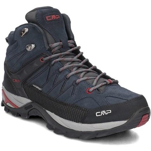 Zapatos Hombre Senderismo Cmp 3Q1294762BN Negros,Azul marino