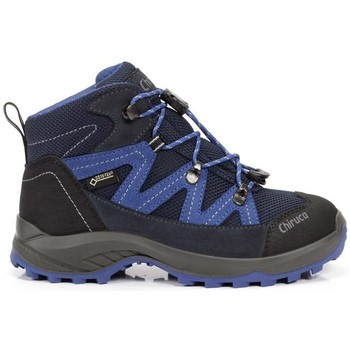 Zapatos Niños Botas Chiruca Botas  Troll 03 Gore-Tex Azul