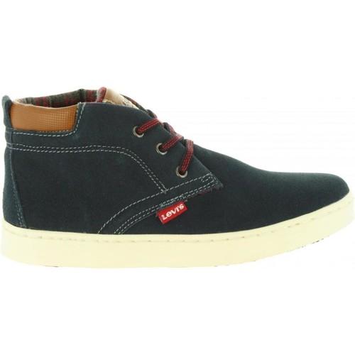Zapatos Niños Zapatillas altas Levi's VCAM0002L CAMBRIDGE Azul