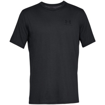 textil Hombre camisetas manga corta Under Armour Sportstyle Left Chest Negro