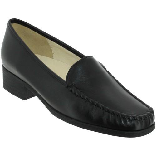 Zapatos Mujer Mocasín Marco BOSLER Cuero negro