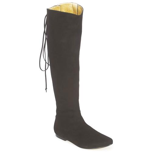 Zapatos promocionales French Sole PRINCE Negro  Venta de liquidación de temporada