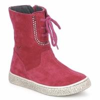 Zapatos Niña Botas de caña baja Naturino VELOUR Frambuesa