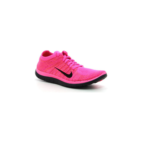 Zapatos Mujer Running / trail Nike Wmns Free 4.0 Flyknit Rosa
