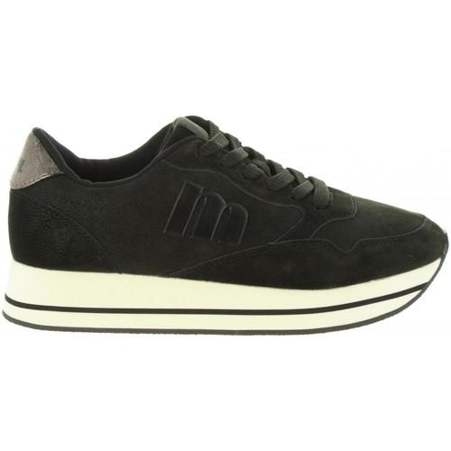 Zapatos Mujer Zapatillas bajas MTNG 69333 Negro