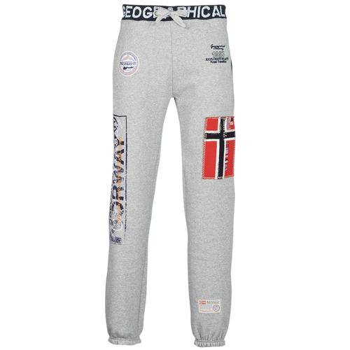 Hombre Gris De Myer Geographical Norway Textil Chándal Pantalones 3q4cRL5Aj