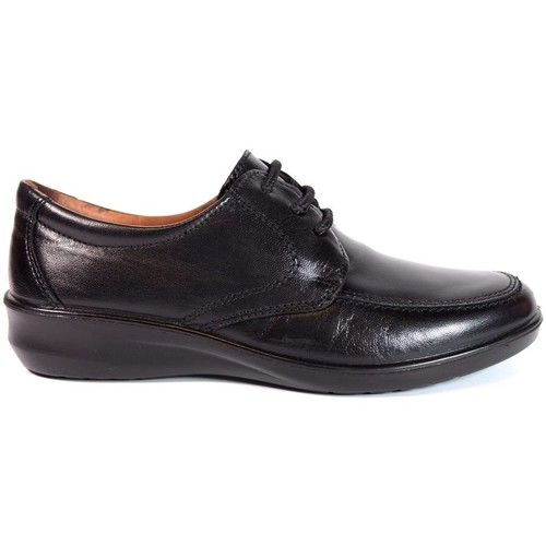 Zapatos Mujer Derbie Luisetti Zapatos Profesional  0303 Negro Negro
