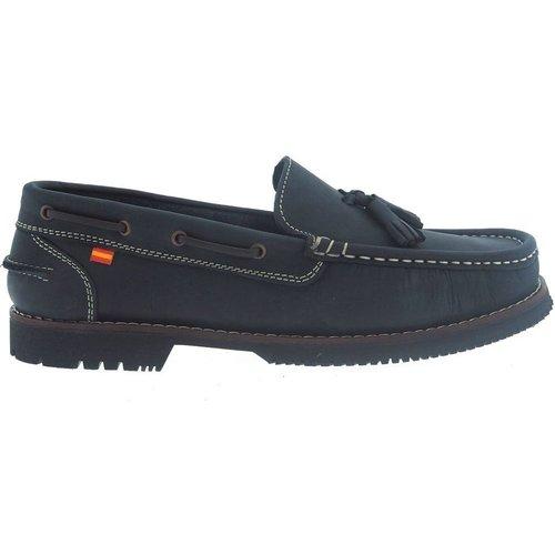 Zapatos Mujer Zapatos náuticos La Valenciana Zapatos Apache  Montijo Azul Azul