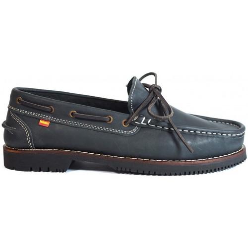 Zapatos Mujer Zapatos náuticos La Valenciana Zapatos Apache  Olivenza Azul Azul