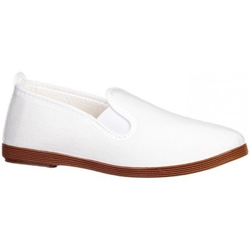 Zapatos Mujer Mocasín Roal Zapatillas Kunfú  295 Blanco Blanco