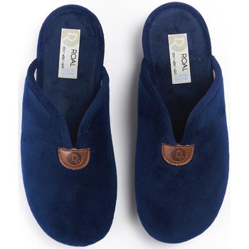 Zapatos Mujer Pantuflas Roal Zapatillas De Casa  700 Marino Azul