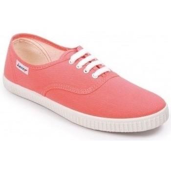 5e33ef60de4b0 Zapatos Mujer Zapatillas bajas Javer Zapatillas 60 Coral Naranja