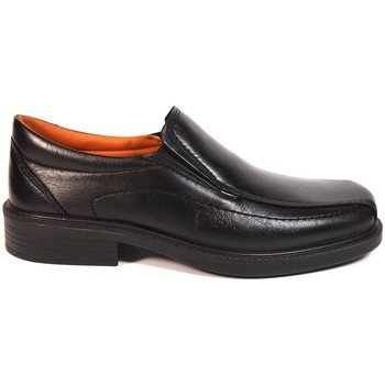 Zapatos Hombre Mocasín Luisetti Zapatos Profesional  0104 Negro Negro