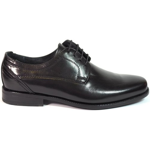 Zapatos Hombre Derbie Luisetti Zapatos Finos  19304 Negro Negro
