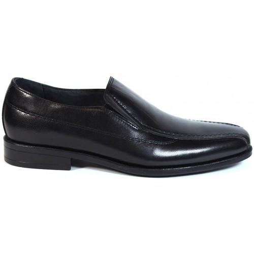 Zapatos Hombre Mocasín Luisetti Zapatos Finos  19302 Negro Negro