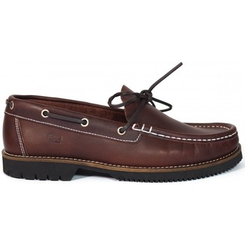 Zapatos Hombre Zapatos náuticos Fluchos Zapatos Náuticos  156 Burdeos Rojo