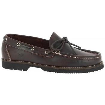 Zapatos Hombre Zapatos náuticos Fluchos Zapatos Náuticos  156 Marrón Marrón