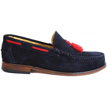Zapatos Hombre Zapatos náuticos La Valenciana Zapatos  2011 Marino Azul