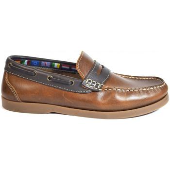 Zapatos Hombre Zapatos náuticos La Valenciana Zapatos  1694 Cuero Marrón