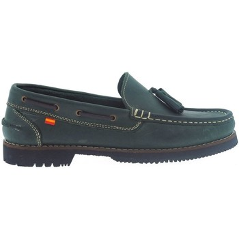 Zapatos Hombre Zapatos náuticos La Valenciana Zapatos Apache  Montijo Verde Verde
