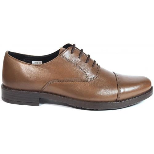 Zapatos Hombre Derbie La Valenciana Zapatos  2180 Marrón Marrón
