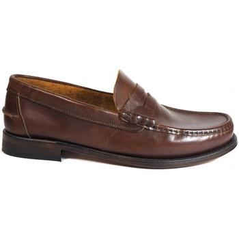 Zapatos Hombre Mocasín La Valenciana Zapatos  2402 Pull Beirao Marrón
