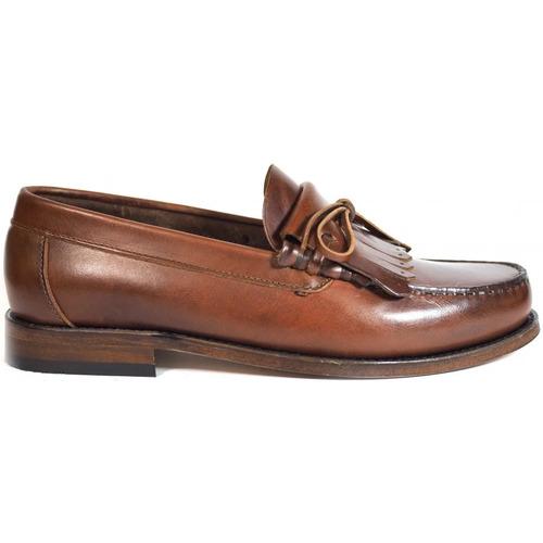 Zapatos Hombre Mocasín La Valenciana Zapatos  2508 Pull Beirao Marrón