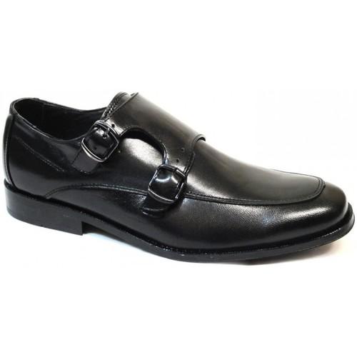 Zapatos Hombre Derbie Riverty Zapatos Finos Szpilman 2044 Negro Negro