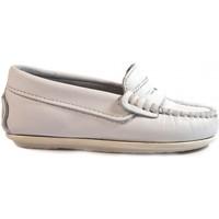 Zapatos Niños Mocasín La Valenciana Zapatos Niños  1017 Blanco Blanco