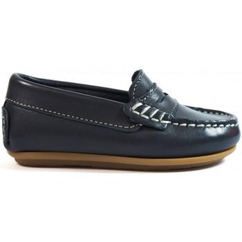 Zapatos Niños Mocasín La Valenciana Zapatos Niños  1017 Marino Azul