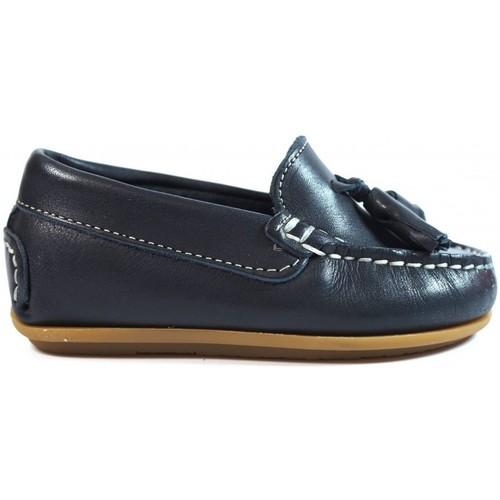 Zapatos Niños Mocasín La Valenciana Zapatos Niños  1014 Marino Azul