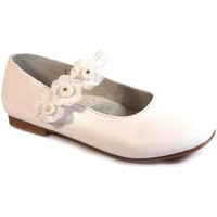 Zapatos Niña Bailarinas-manoletinas Bubble Bobble Merceditas Comunión  A1849 Blanco Blanco
