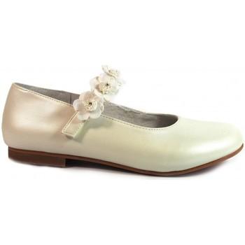 Zapatos Niña Bailarinas-manoletinas Bubble Bobble Merceditas Comunión  A1849 Beig Beige