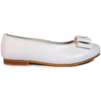 Zapatos Niña Bailarinas-manoletinas Bubble Bobble Manoletinas Niña  A580 Blanco Blanco