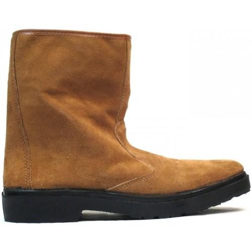 Zapatos Botas de caña baja Vallera Botas  399 Arena Marrón
